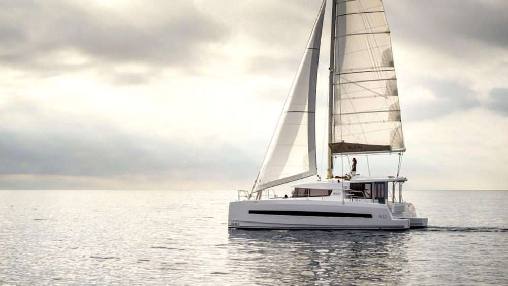 Rental Catamaran in Balearic Islands - Catana Bali 4.0 - 4 cab.