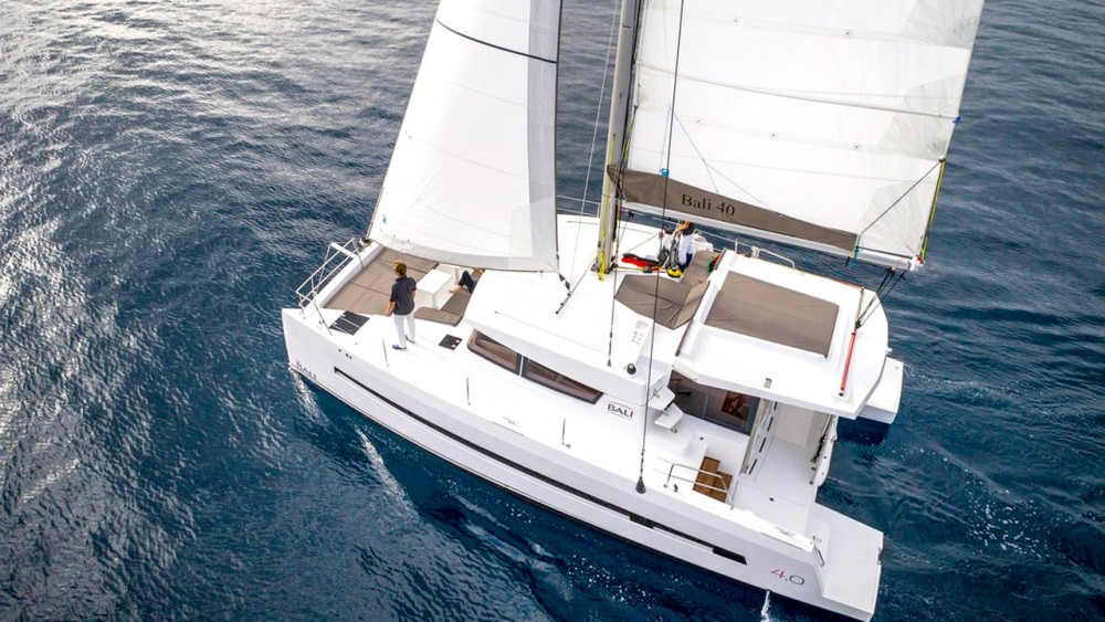 Boat rental Catana Bali 4.0 - 4 cab. in Balearic Islands on Samboat