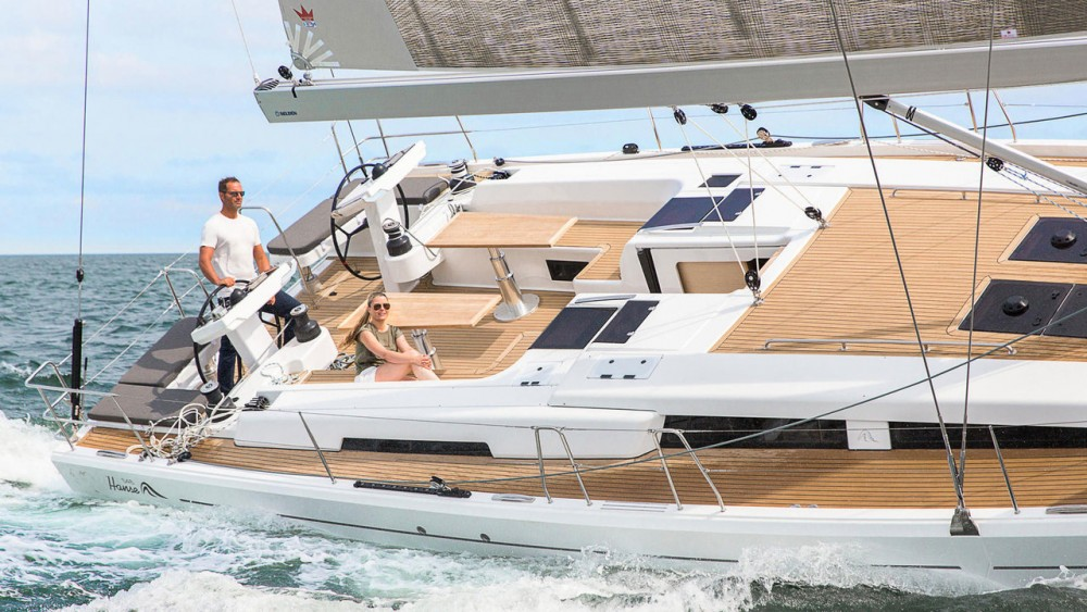 Boat rental Palma cheap Hanse 548 - 3 + 1 cab.