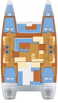 Rental yacht Can Pastilla - Lagoon Lagoon 450 on SamBoat
