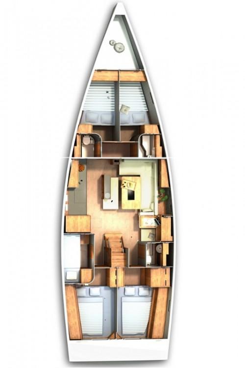 Rental Sailboat in Grad Pula - Hanse Hanse 505