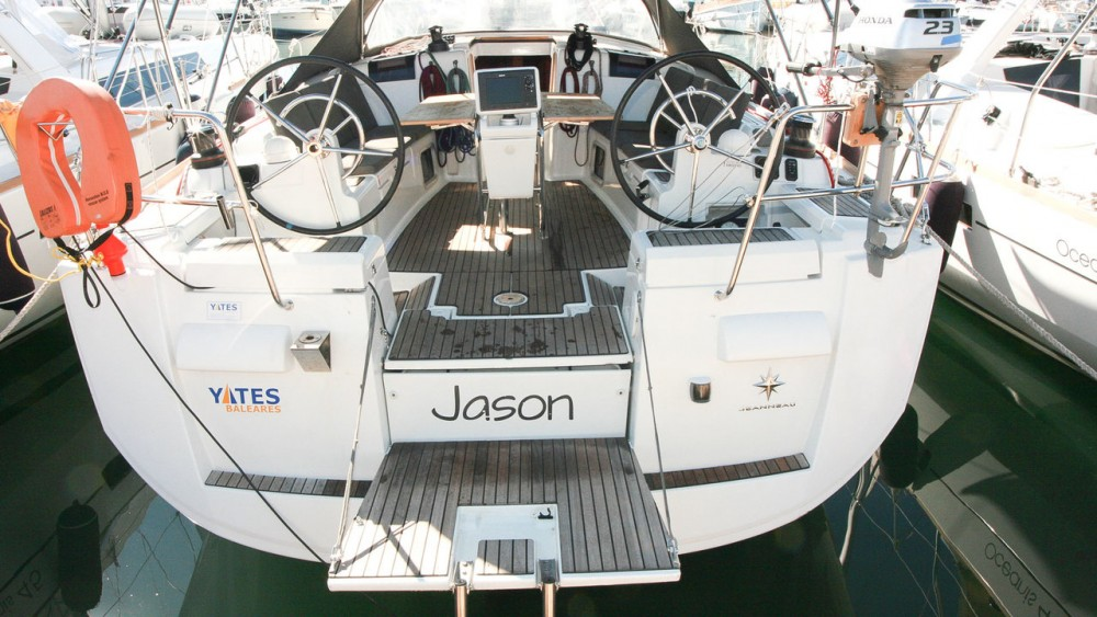 Rental yacht Can Pastilla - Jeanneau Sun Odyssey 439 on SamBoat