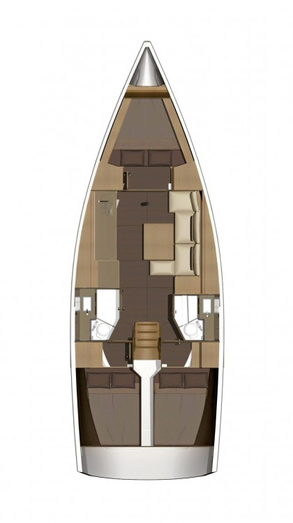 Rental yacht Horta Marina - Dufour Dufour 382 Grand Large on SamBoat