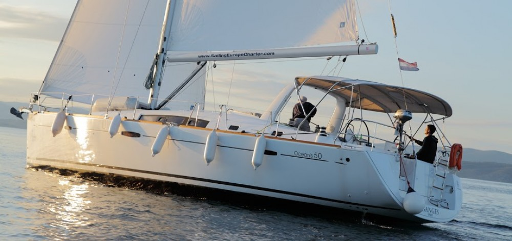 Hire Sailboat with or without skipper Bénéteau Rogač