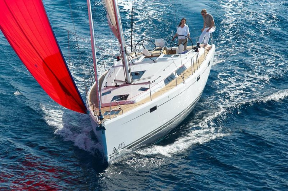 Boat rental Hanse Hanse 415 in Milas on Samboat