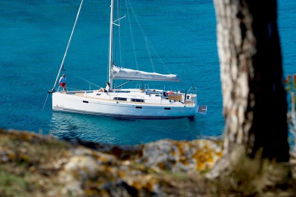 Rental Sailboat in Milas - Hanse Hanse 415