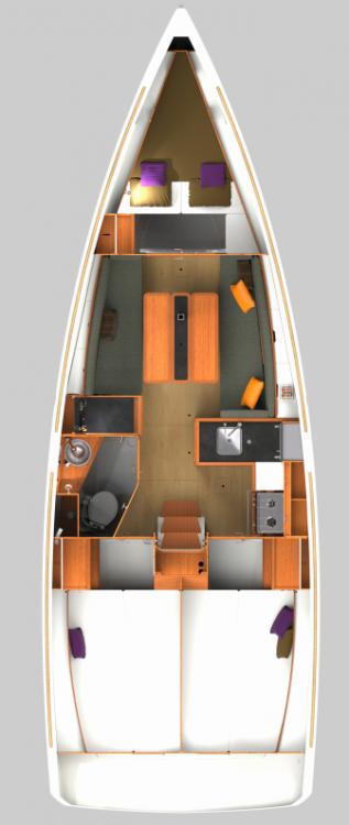 Boat rental Jeanneau Sun Odyssey 349 in Rogač on Samboat