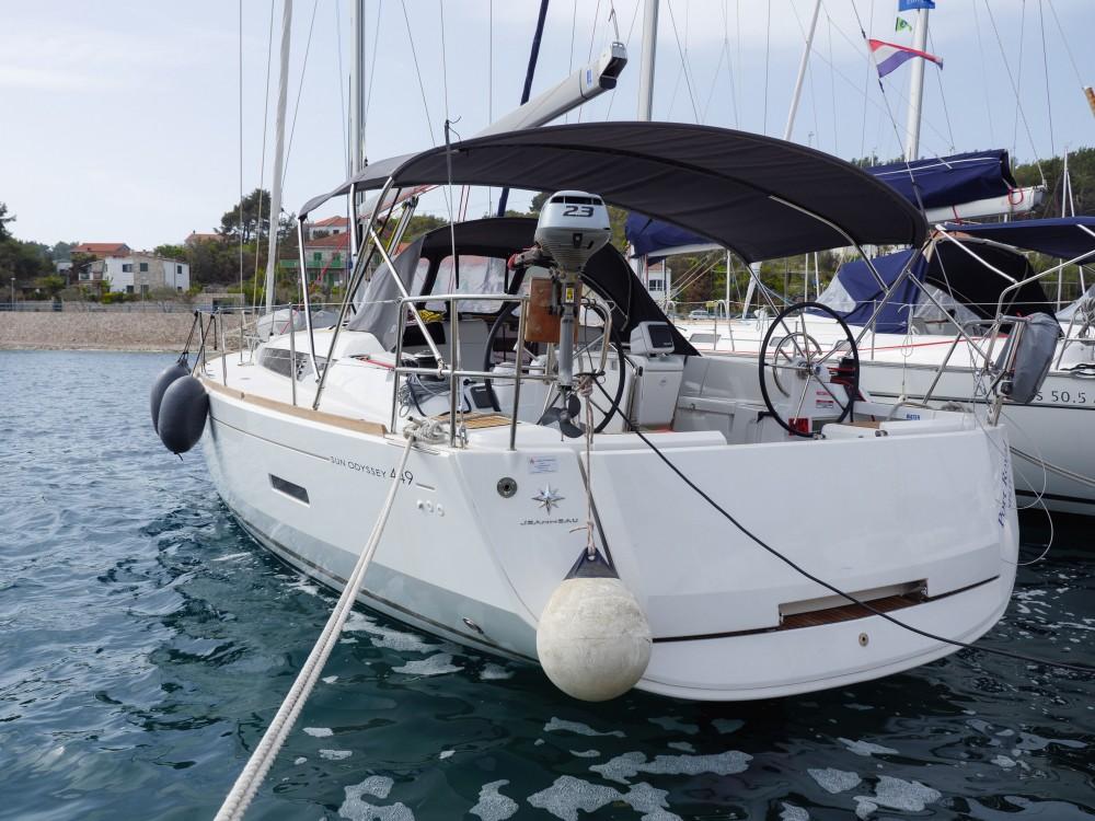 Rental yacht Rogač - Jeanneau Sun Odyssey 449 on SamBoat
