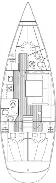 Boat rental Lefkada cheap Cruiser 43