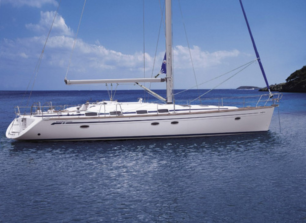 Bavaria Cruiser 50 between personal and professional Lefkada