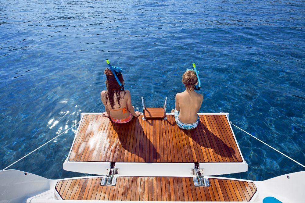 Boat rental Lefkada cheap Cruiser 41