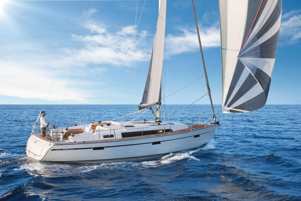 Bavaria Cruiser 41 between personal and professional Lefkada