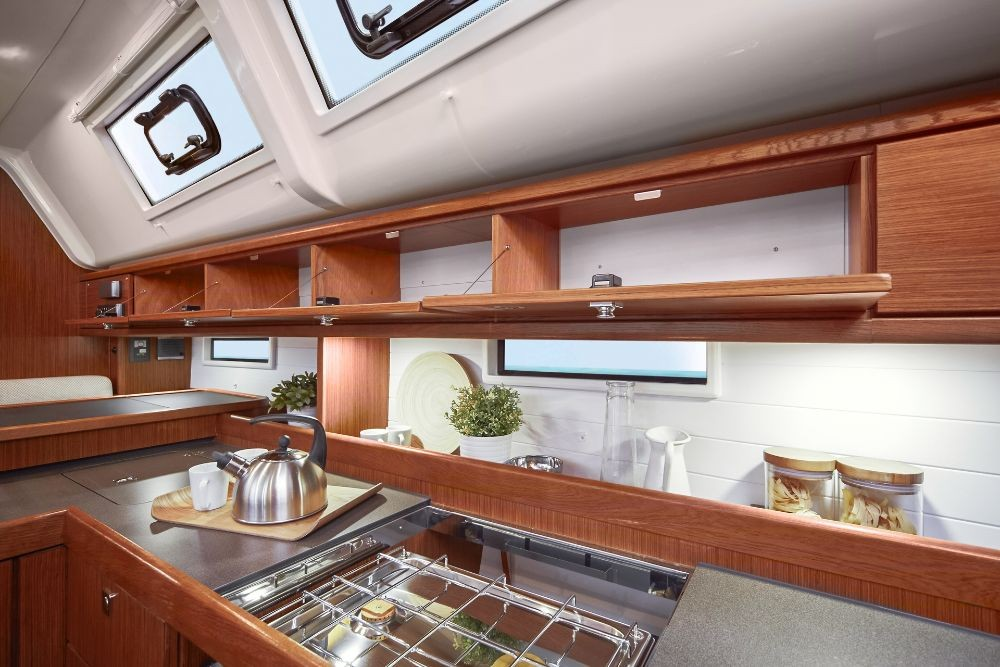 Bavaria Cruiser 51 between personal and professional Lefkada