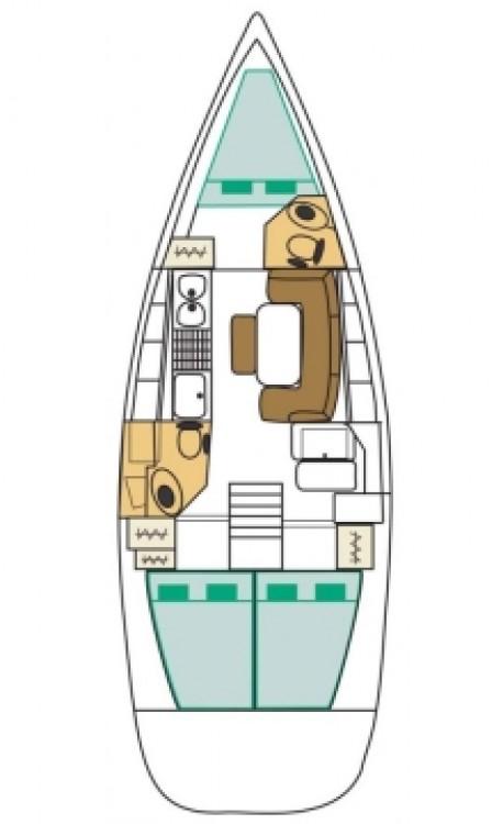 Rental yacht Lefkada - Bénéteau Cyclades 39.3 on SamBoat