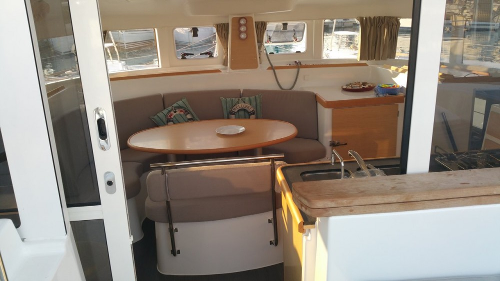 Boat rental Lefkada cheap Lagoon 380 S2