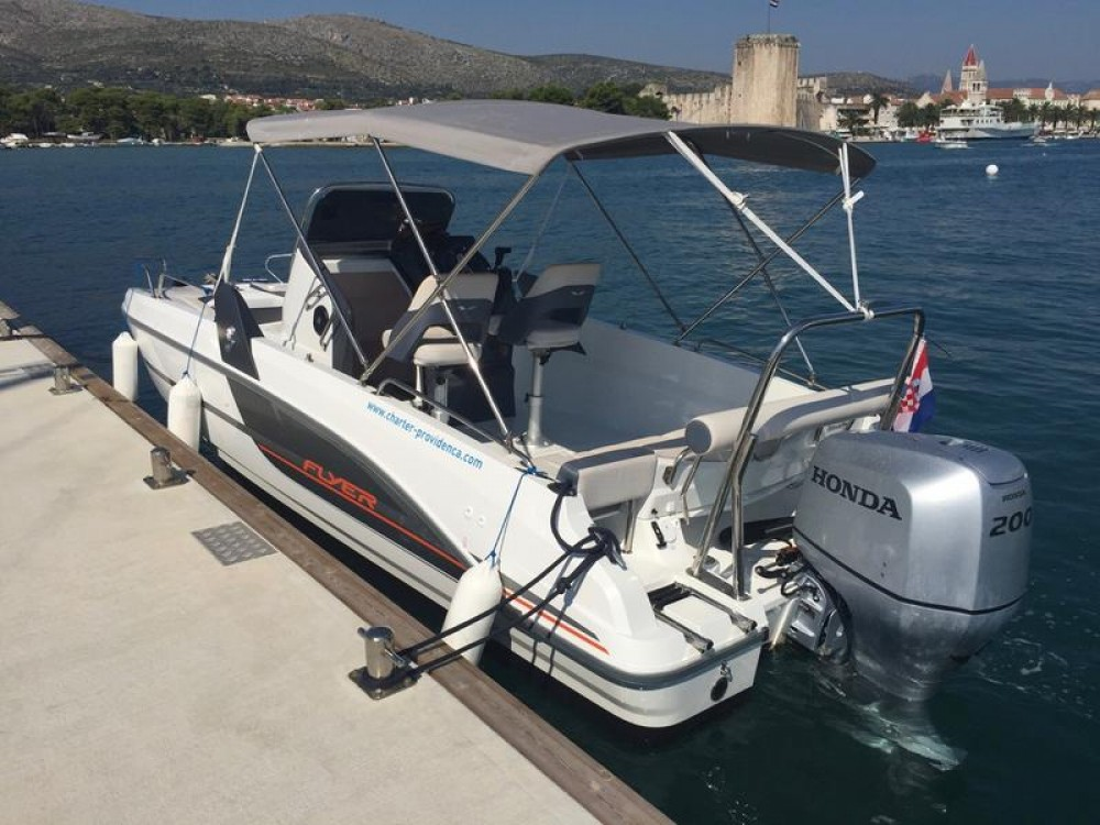 Boat rental Trogir cheap Flyer 6.6 SPACEdeck