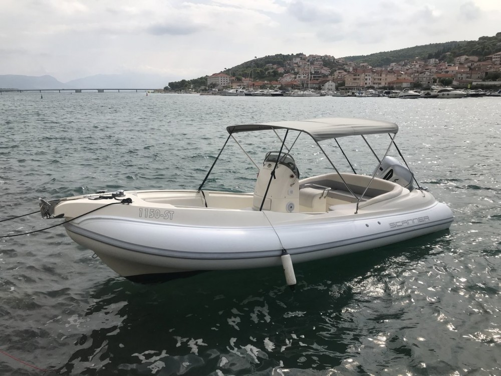 Hire RIB with or without skipper Scanner Srl.  Trogir