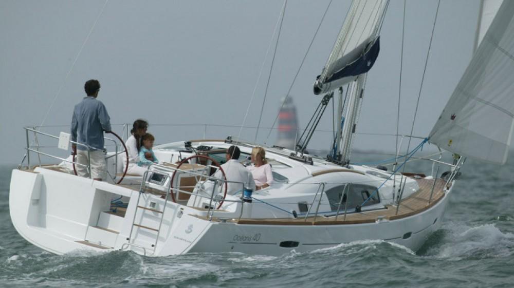 Boat rental Peloponnese cheap Oceanis 40