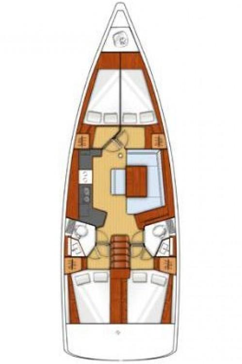 Rental Sailboat in Peloponnese - Bénéteau Oceanis 45