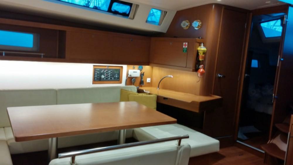 Boat rental Peloponnese cheap Oceanis 45
