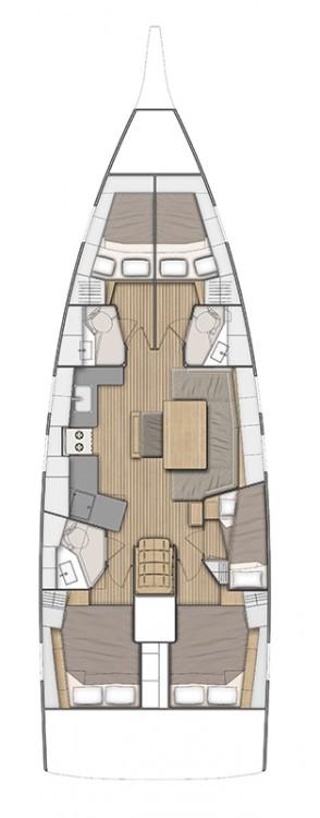 Boat rental Peloponnese cheap Oceanis 46.1 - 5 cab.