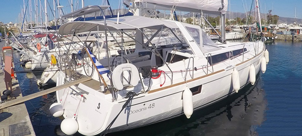 Boat rental Peloponnese cheap Oceanis 48