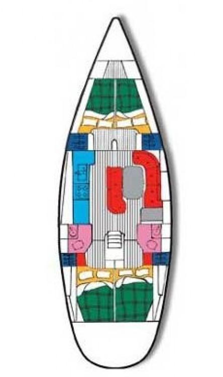 Rental yacht Peloponnese - Bénéteau Oceanis Clipper 461 on SamBoat