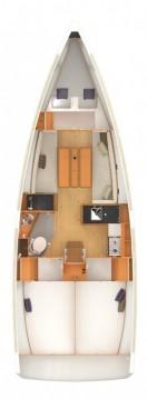 Boat rental Jeanneau Sun Odyssey 349 in Alimos on Samboat