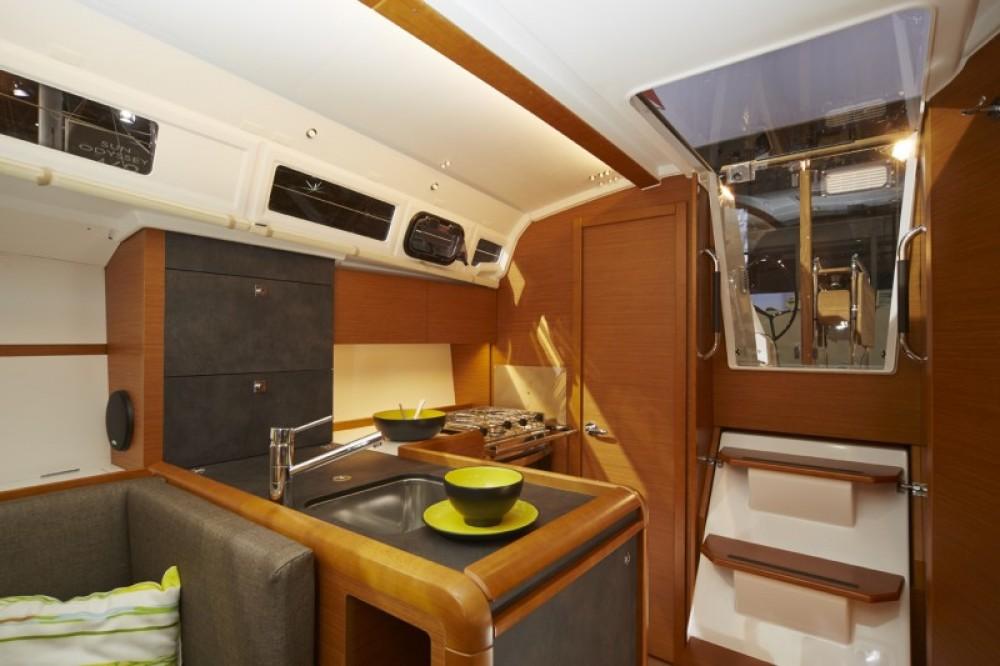 Boat rental Peloponnese cheap Sun Odyssey 349