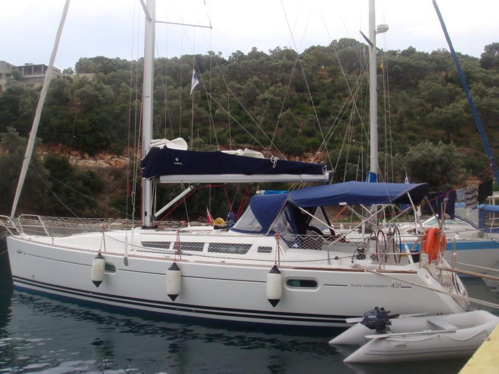 Boat rental Jeanneau Sun Odyssey 42i in Lefkada on Samboat