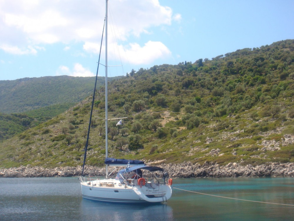 Jeanneau Sun Odyssey 42i between personal and professional Lefkada