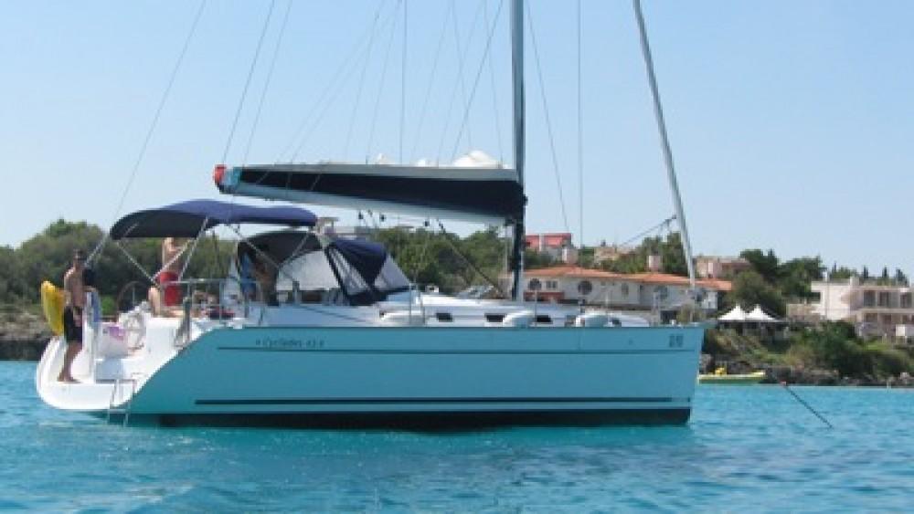Boat rental Anzio cheap Cyclades 43
