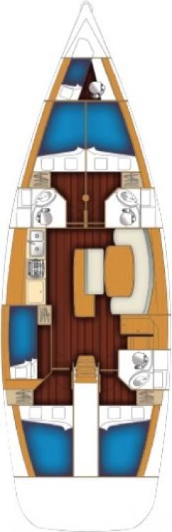 Rental Sailboat in Anzio - Bénéteau Cyclades 50.5 - 5 + 1 cab.