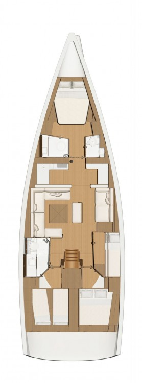Rental yacht Cecina - Dufour Dufour 520 Grand Large on SamBoat