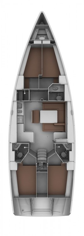 Boat rental Bavaria Cruiser 45 in Fethiye on Samboat