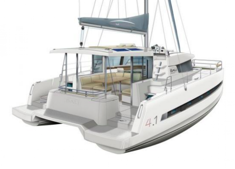 Rental Catamaran in Malta - Catana Bali 4.1 - 4 + 2 cab.
