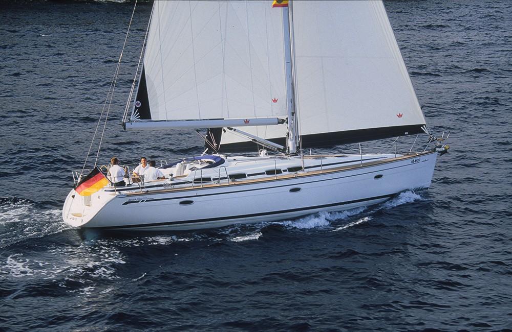 Bavaria Cruiser 46 between personal and professional Malta