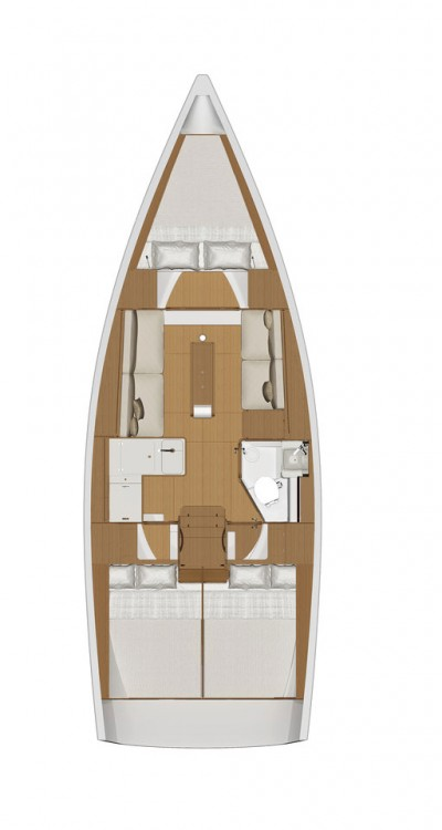 Rental yacht Malta - Dufour Dufour 360 GL - 3 cab. on SamBoat
