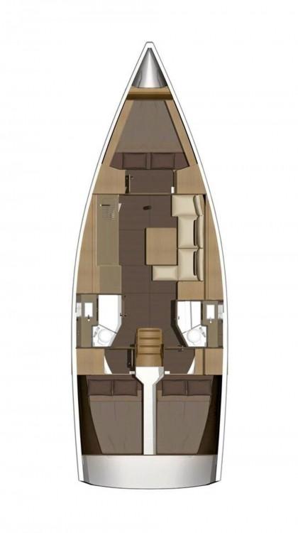 Rental yacht Malta - Dufour Dufour 382 GL - 3 cab. on SamBoat