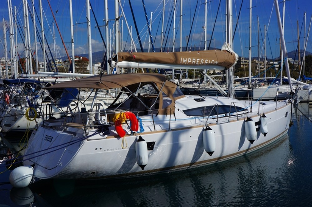 Hire Sailboat with or without skipper Elan Peloponnese