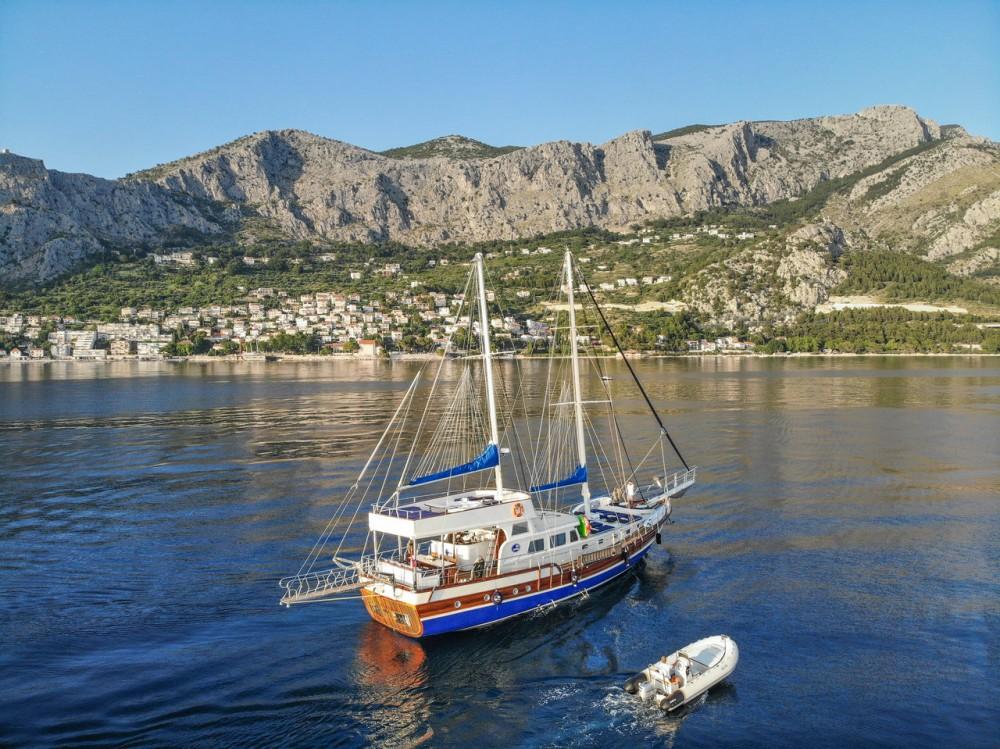 Rent a Custom Made Gulet Saint Luca Croatia