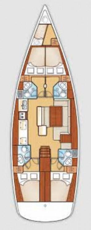 Rental yacht Peloponneso - Bénéteau Oceanis 50 on SamBoat