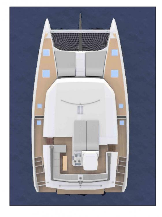 Dufour Dufour 48 Catamaran - 4 + 1 cab. between personal and professional