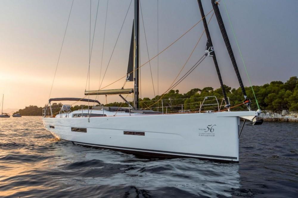 Boat rental  cheap Dufour Exclusive 56 - 4 + 1 cab.
