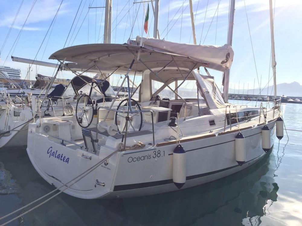 Rental Sailboat in Palermo - Bénéteau Oceanis 38.1