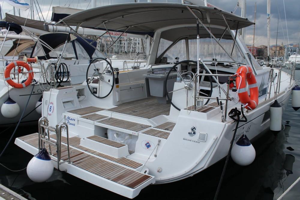Boat rental Marsala cheap Oceanis 48