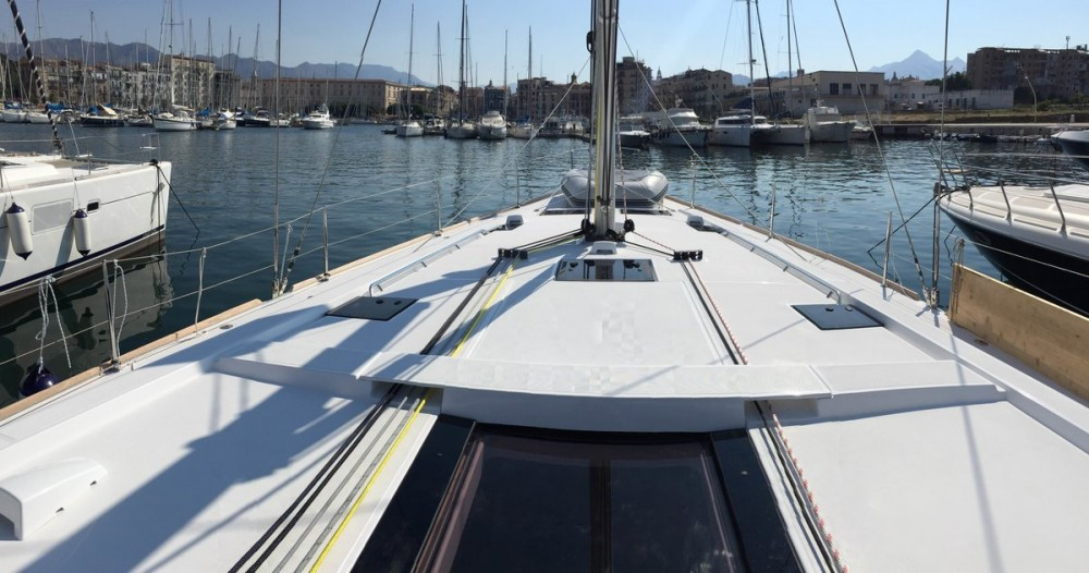 Bénéteau Oceanis 48 between personal and professional Marsala