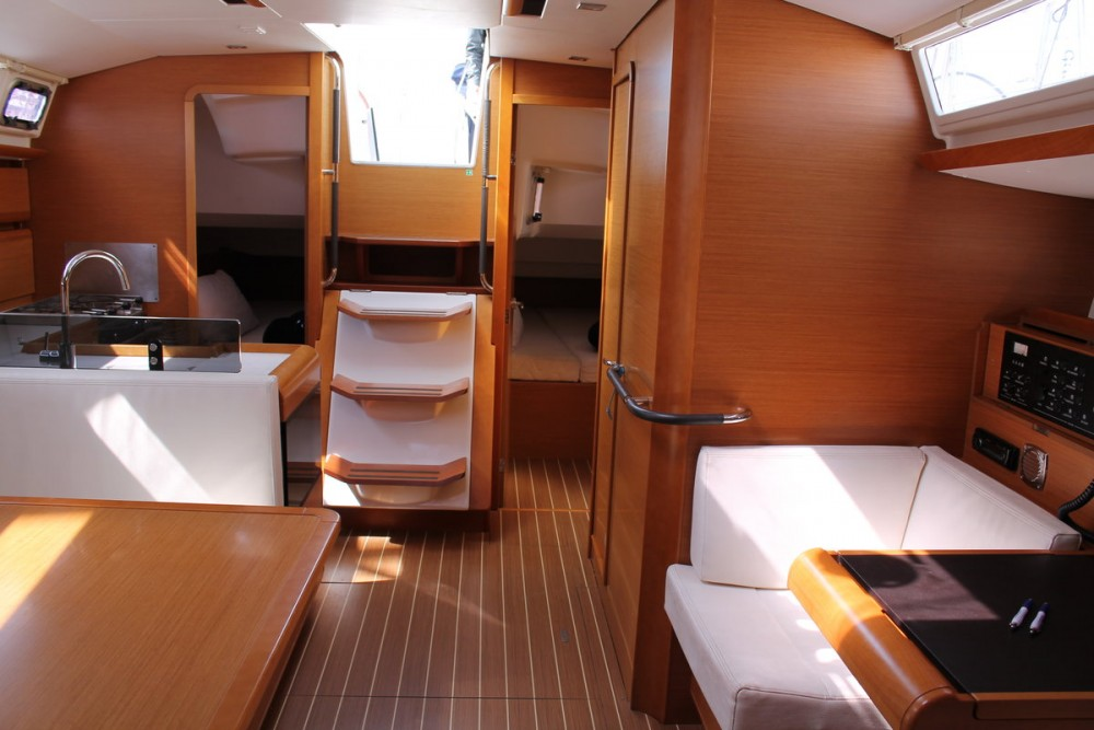 Boat rental Furnari cheap Sun Odyssey 439