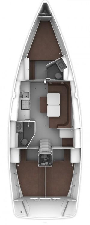 Rental yacht Göcek - Bavaria Cruiser 41 on SamBoat