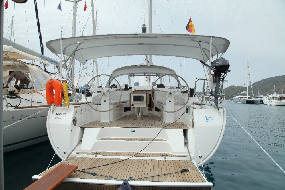 Bavaria Cruiser 50 between personal and professional Göcek